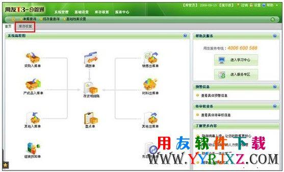 用友T3仓管通标准版11.0免费下载地址 畅捷通T+ 第4张
