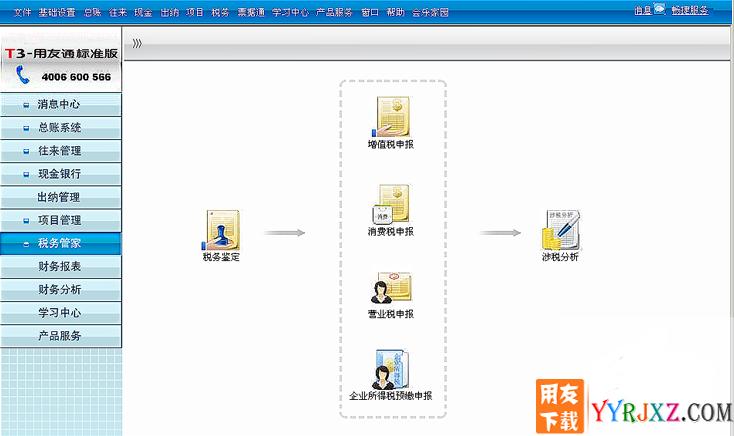 用友通T3标准版10.6财务软件免费试用版下载地址 用友T3 第8张