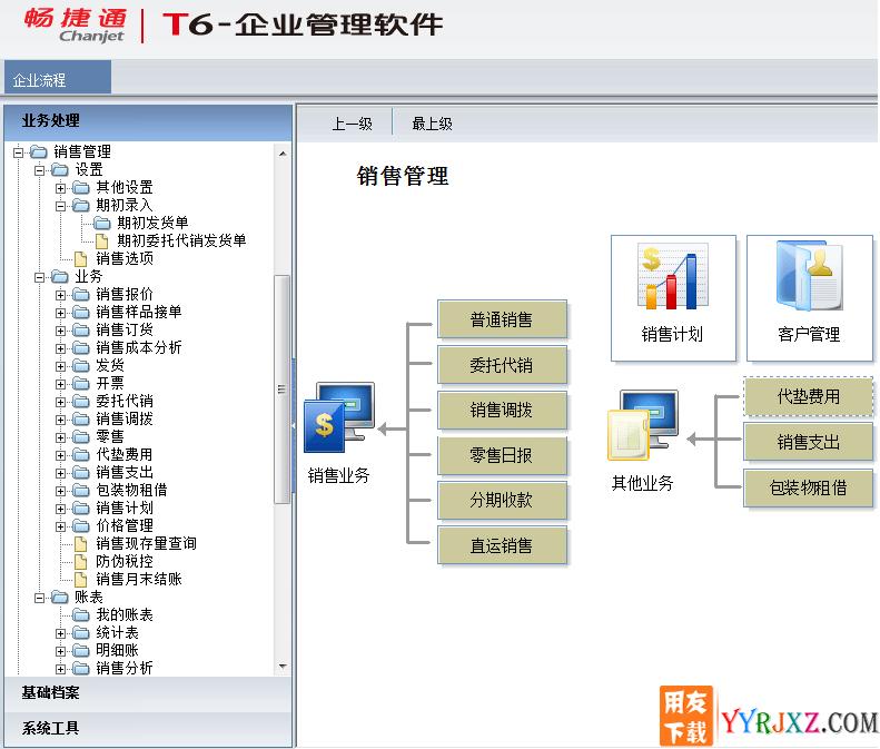 用友T6V6.1企业管理软件免费试用版下载地址 用友T6 第13张