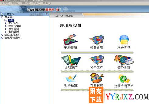 用友U6V3.1中小企业管理软件免费试用版下载地址 用友T6 第4张