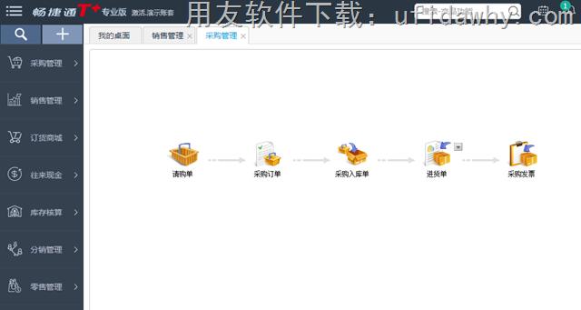 用友畅捷通T+V12.1普及版免费下载地址 畅捷通T+ 第4张