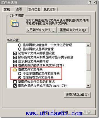 怎么显示文件扩展名和隐藏文件? 学用友 第2张
